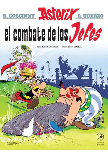 Imagen 1 de 1 de Libro Asterix 7. El Combate De Los Jefes