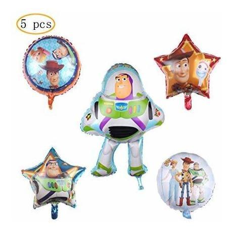 5pcs Partido Del Globo Toy Story Suministros 30 Globos De L