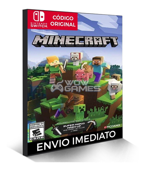 Minecraft - Jogo Nintendo Switch - Código Digital Eshop