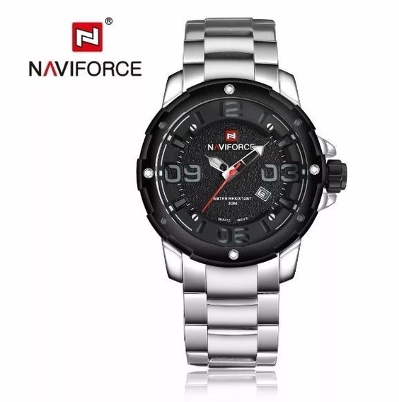 Relogio Masculino Militar Naviforce Nf 9078 P Top De Linha
