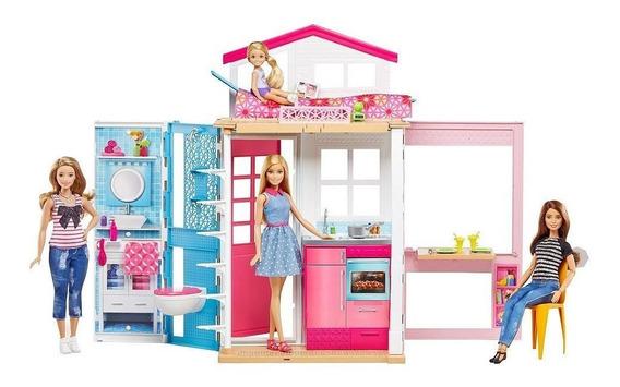 Boneca Barbie Casa Real 2 Andares Dvv48 - Mattel