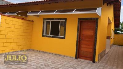 Entrada R$ 36.980,00l + Saldo Super Facilitado. Aceito Fgts! Casa De 2 Dormitórios, 61 M² - Loty - Itanhaém/sp - Ca3443