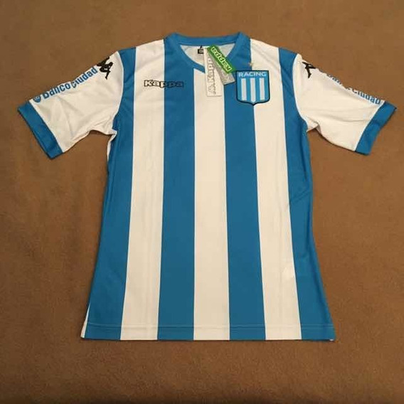 Camisa Racing Club Home 2017 Sem Patrocínio - Kappa