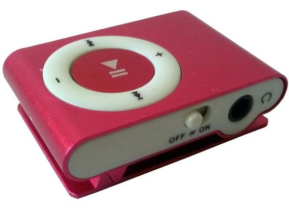 Mp3 Reproductor Nano Mini Con Audifonos Y Cable Usb De Carga