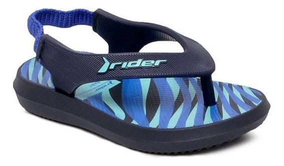Chinelo Infantil Rider 11184 Azul Grendene