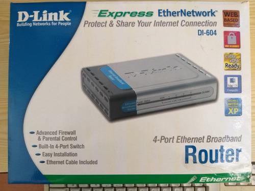 Imagen 1 de 3 de D-link Rooter Di-604