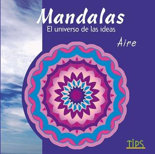 Libroo P/ Colorear. Mandalas El Universo De Las Ideas. Aire