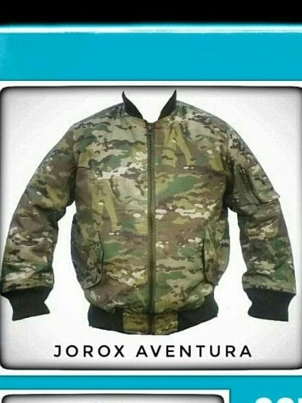 Campera Aviadora Multicam