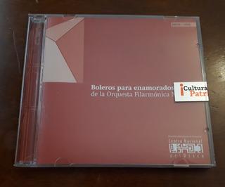 Boleros Para Enamorados. Orquesta Filarmónica Nacional.