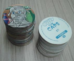 Lote Com 10 Tazos Da Coleção Buzzy Caps