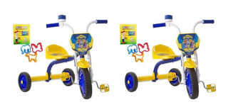 Kit 2 Triciclo 3 Rodas Bicicleta Infantil Ultra Bike Barato