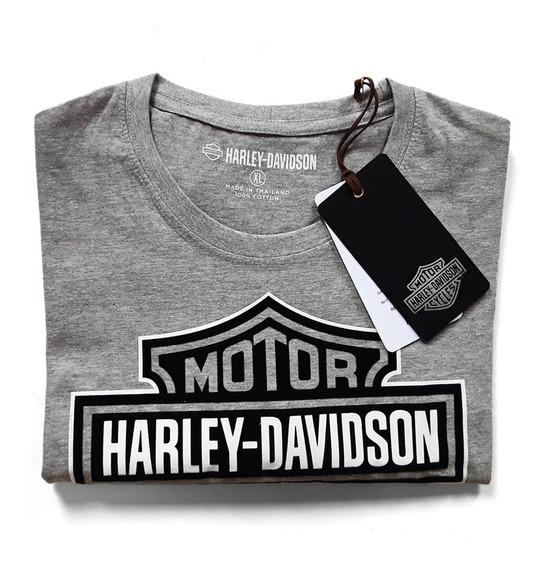 Playera Harley-davidson Bar And Shield Heather Grey