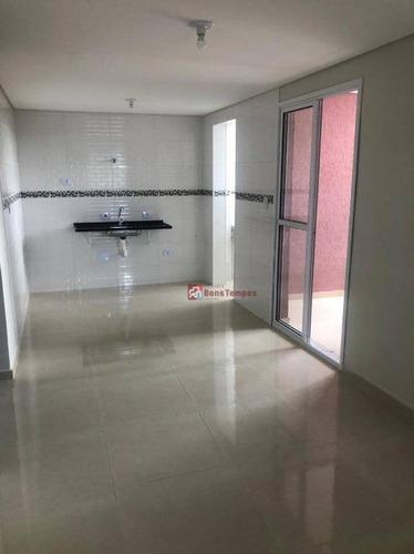 Apartamento Com 3 Dormitórios À Venda Por R$ 280.000,00 - Cidade Líder - São Paulo/sp - Ap4397