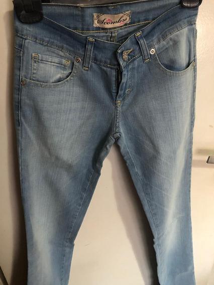 Pantalon De Jean Scombro Talle 25 Nuevo Original