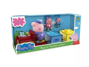 Peppa Pig - Peppa No Trenzinho Do Vovô - Dtc