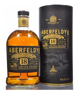 Whisky Aberfeldy 18 Años Single Malt De Litro Escoces