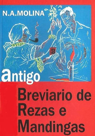 Livro Antigo Breviario Rezas E Mandingas