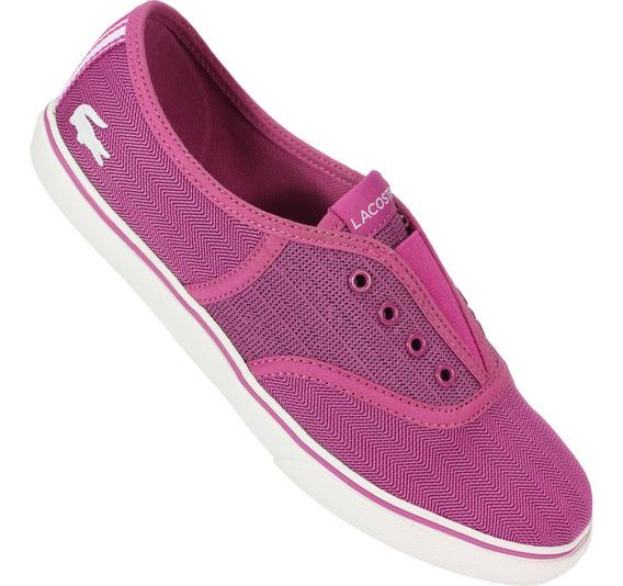 Tênis Lacoste Rene Slip Hpc Scw Original - Pink