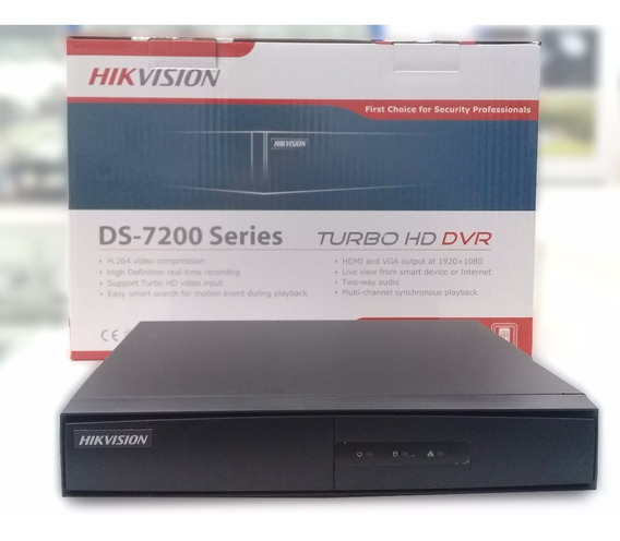 Dvr Hikvision Turbo Hd 8 Canales 1080p Lite 720p + Ip
