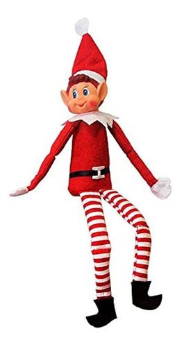 Imagen 1 de 3 de Juguete Suave Elfo De Navidad - Elfos Se Comporta Mal - Jugu