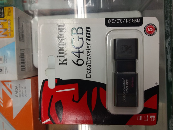 Kingston Pen Drive 64 Gb - Datatraveler Se9