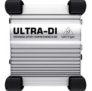 Direct Box Ativo Ultra Di100 - Behringer + Nf + Garantia - Com Nota Fiscal E Garantia De 2 Anos Proshows!