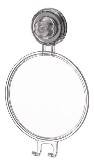 Espelho Antiembaçante Natural Com Ventosa Future 406nt