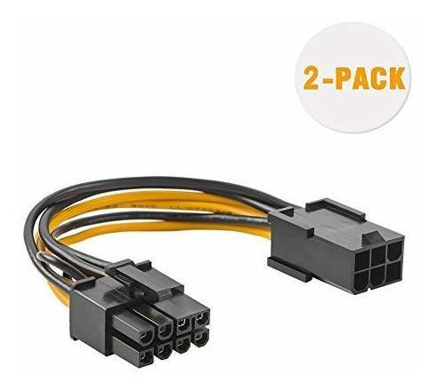 Cable Adaptador Alimentacion Pci Express 6 Pin 8 2