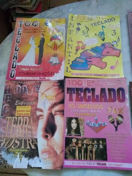 Lote Revistas Teclado Diversas Ler Descrição