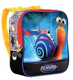 Lancheira De Poliester Infantil Turbo Fast Racing - Seanite