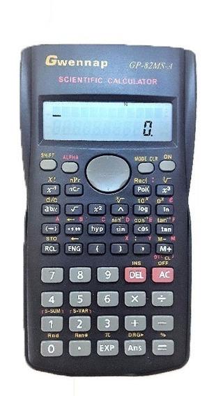 Calculadora Científica Gwennap 240 Funções Gp-82ms-a