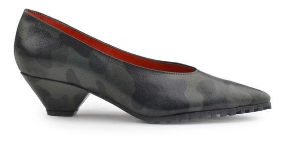 Zapatos De Mujer De Cuero Bajo 6 Cuotas - Hanoi - Ferraro