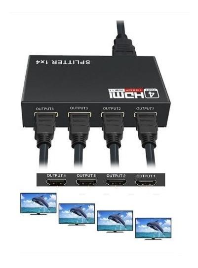 Divisor Splitter Distribuidor Hdmi Full Hd 1.4 3d 1080p Tv