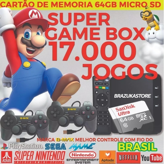 Super Game Retro - Video Game Retro Com Jogos Clássicos 64gb
