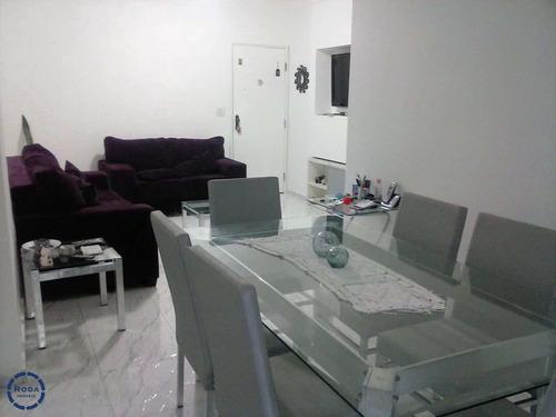 Apartamento Com 3 Dorms, Campo Grande, Santos - R$ 440 Mil, Cod: 19126 - V19126