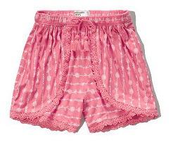 Short - Pantalón Corto P/nena. Abercrombie Kids.
