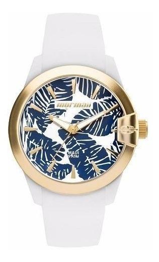 Relógio Mormaii Feminino Branco Preto Ou Dourado Original