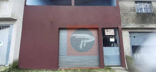Imagem 1 de 18 de Casa Com 1 Dormitório, 225 M² - Venda Por R$ 200.000 Ou Aluguel Por R$ 800/mês - Recanto Verde Do Sol - São Paulo/sp - Ca0740