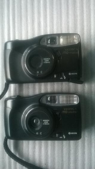 Câmera Fotográfica Analógica Yashica Mg Motor Kyocera