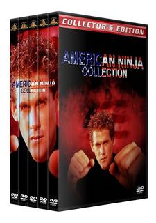 Ninja American Saga Pack Coleccion En Dvd Latino