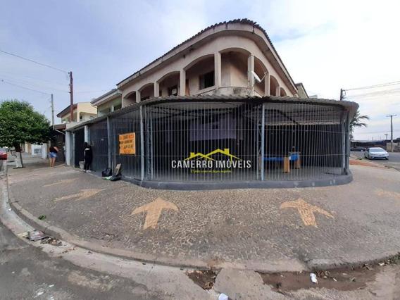 Salão Para Alugar, 80 M² Por R$ 850/mês - Parque São Jerônimo - Americana/sp - Sl0369