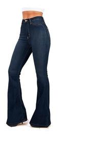 Jean Mujer Oxford Elastizado Calce Perfecto Azul