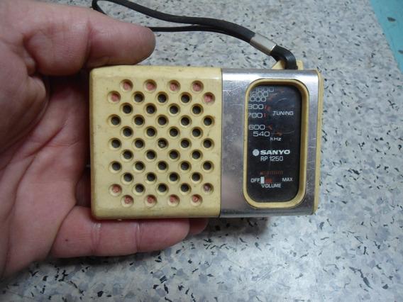 Rádio Sanyo Rp1250 Para Reparo Ou Peças