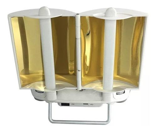Defletor Sinal Antena Range Booster Phantom 3 4 Dourado Gold
