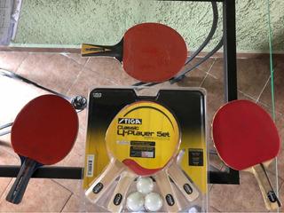 Set Racketas Para Ping Pong