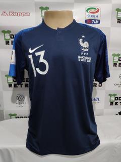 Camisa França Final Copa Do Mundo 2018 Kante 13 A P/ Entrega