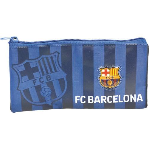 Imagem 1 de 2 de Estojo Simples Flat Barcelona Blaugrana