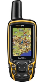 Gps Garmin Map 64 Brinde Mapa Rodoviario E Topografico