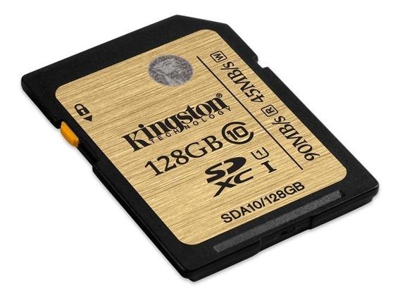 Cartão Sd Kingston 128gb Ultimate Sdxc 90mb/s Classe10 Uhs-i