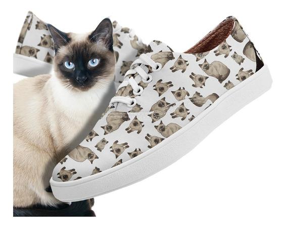 Tênis Amy Usthemp - Gato Siamês